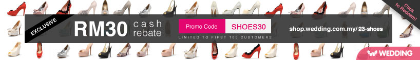 Wedding.com.my Shoes Promo Code
