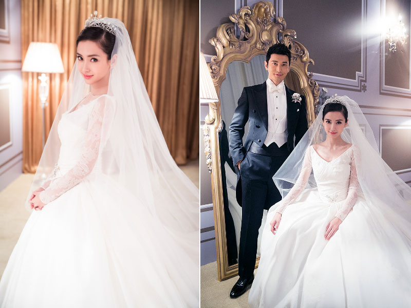 Real Weddings Huang Xiaoming And Angelababy