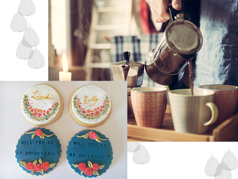 etsy custom cookies bridesmaid proposal idea