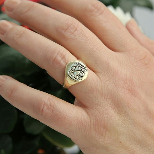 signet ring bridesmaid proposal ideas