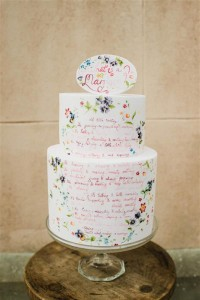 hand-lettered-wedding-cake