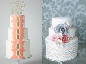 abstract cakes