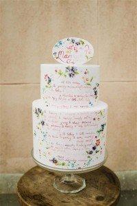 hand-lettered-wedding-cake