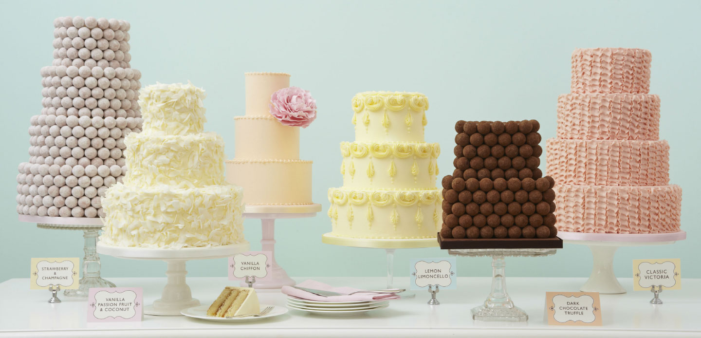 7 Rainbow Colours for Your Wedding Cake - Our Wedding Journal