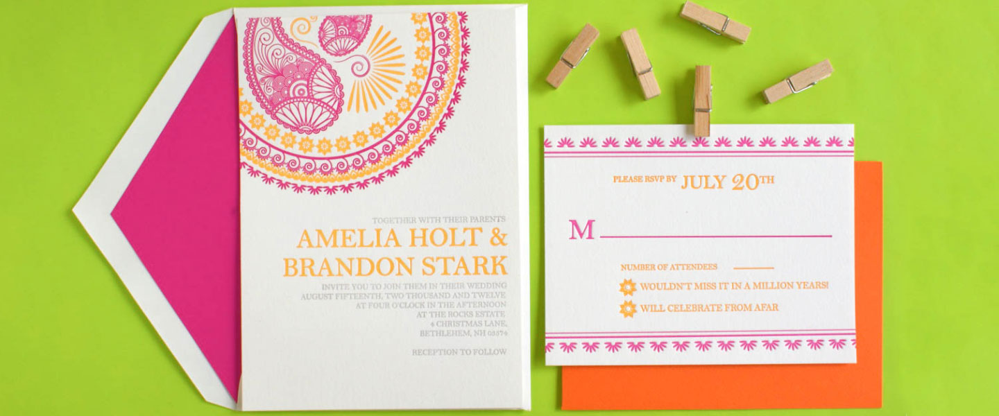 6 Wedding Invitation Card Designs for Your Inspiration - Our Wedding ...