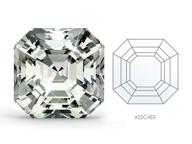 Asscher Cut Diamond