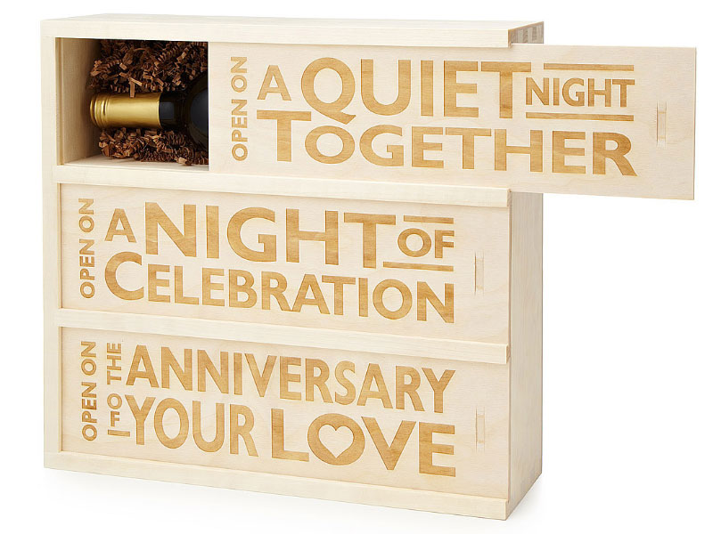 Three Night Wine Wedding Gift
