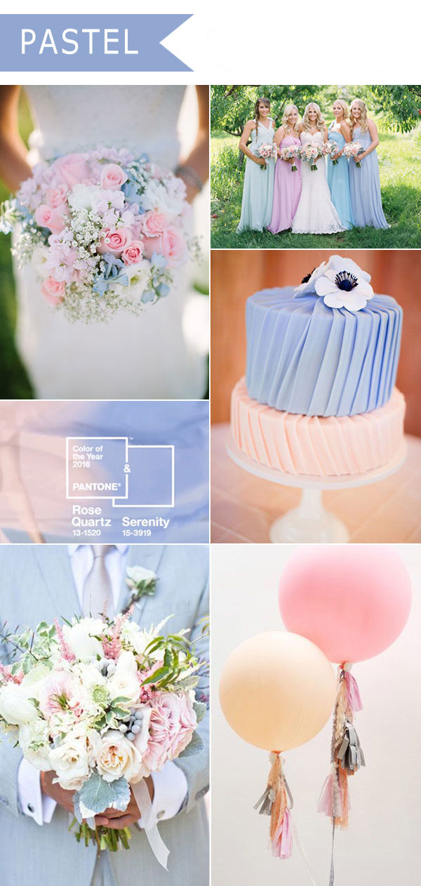 Pastel Wedding Theme