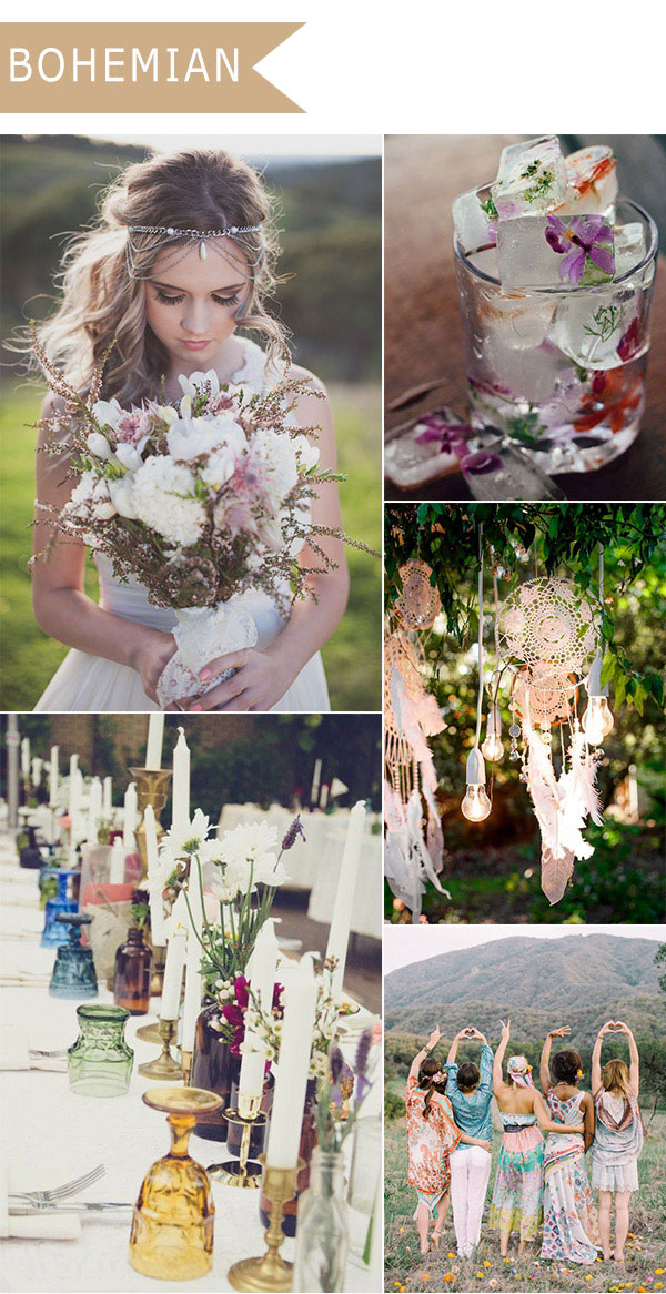 Bohemian Wedding Theme
