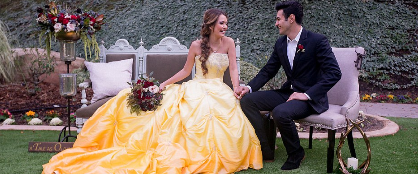 Have A Beauty and the Beast Wedding That Is A Tale As Old As Time