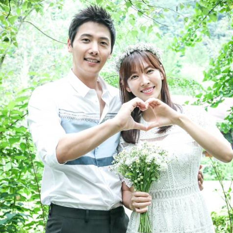 Kim So Yeon and Lee Sang Woo