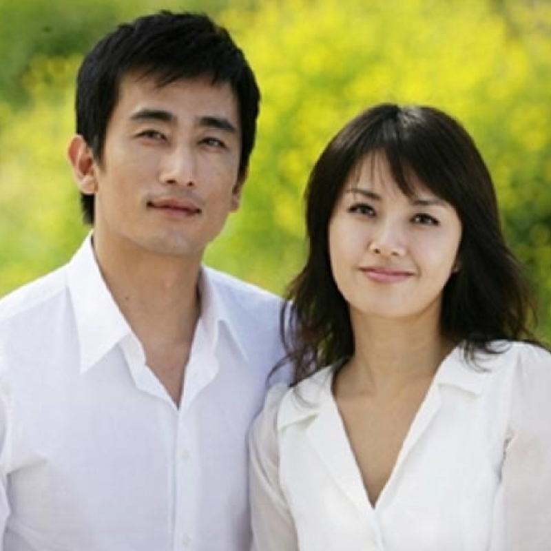 Cha In Pyo and Shin Ae Ra