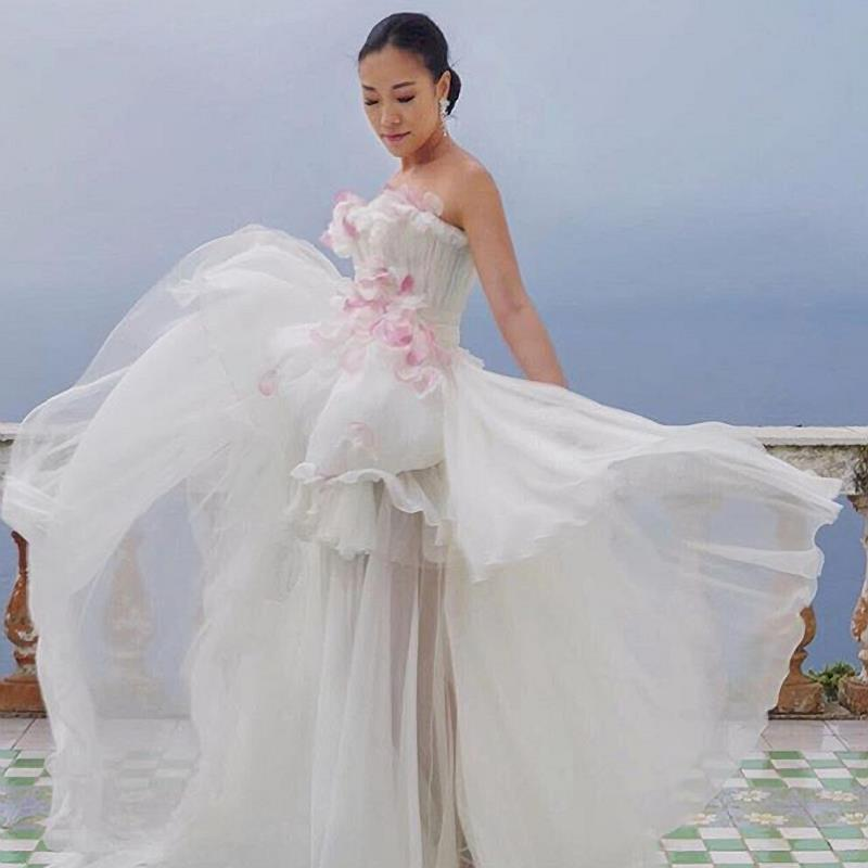 Feiping second wedding dress