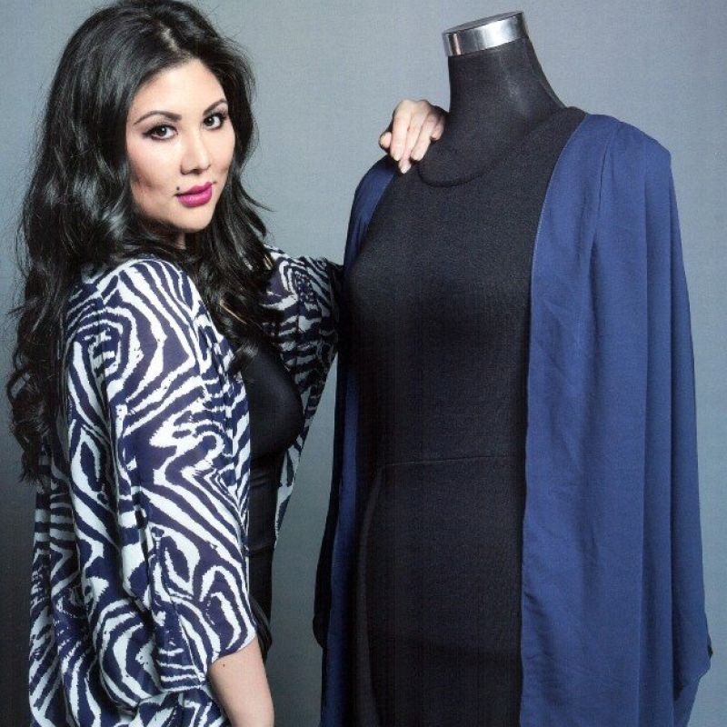 laura ashley heiress Angeline Khoo as designer
