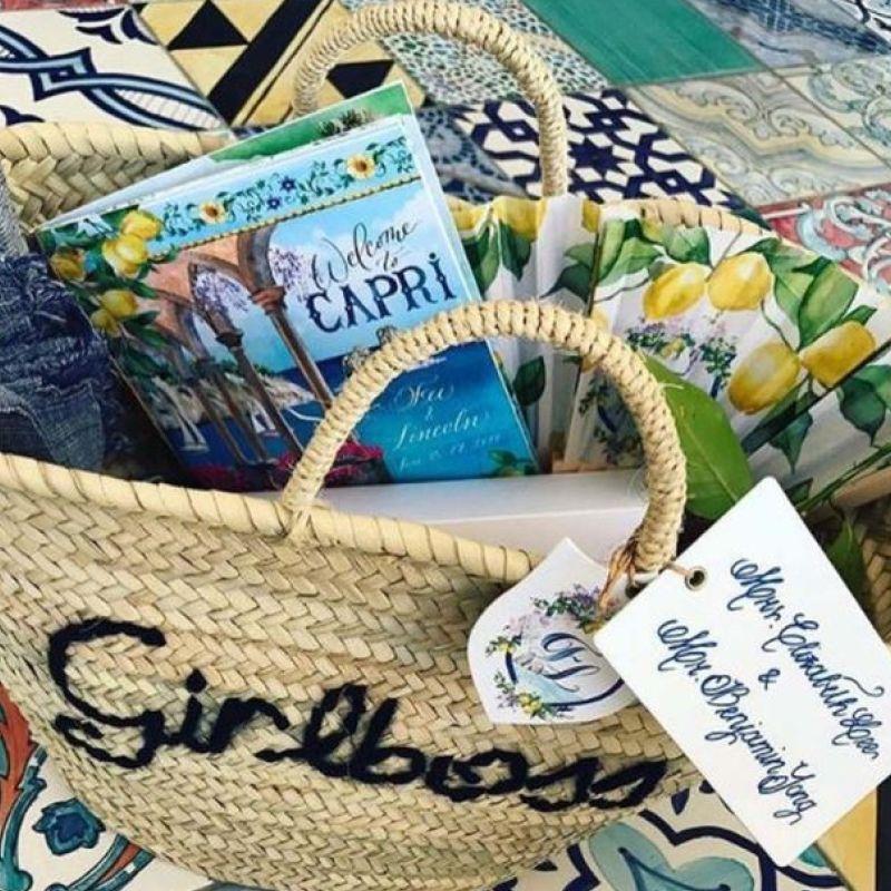 Guests gift basket