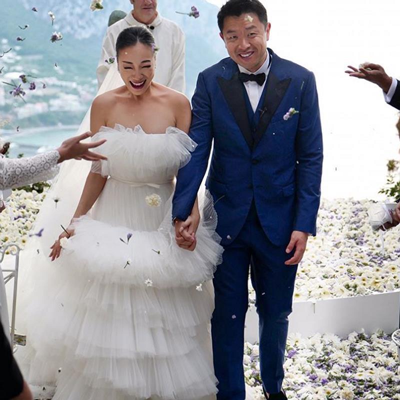 Happy Li's wedding celebration