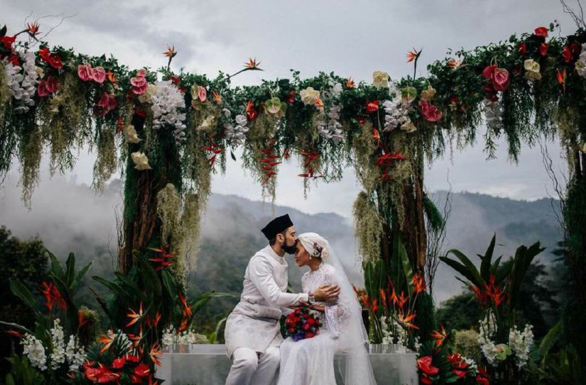 Singer Yuna Adam Sinclair Wedding A Day Of Magic And Romance