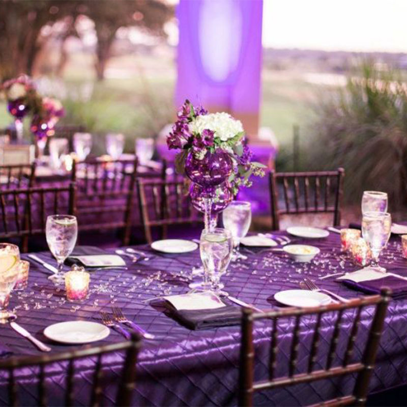 Wedding Decorations Ideas For Wedding Reception Table Ultra Violet