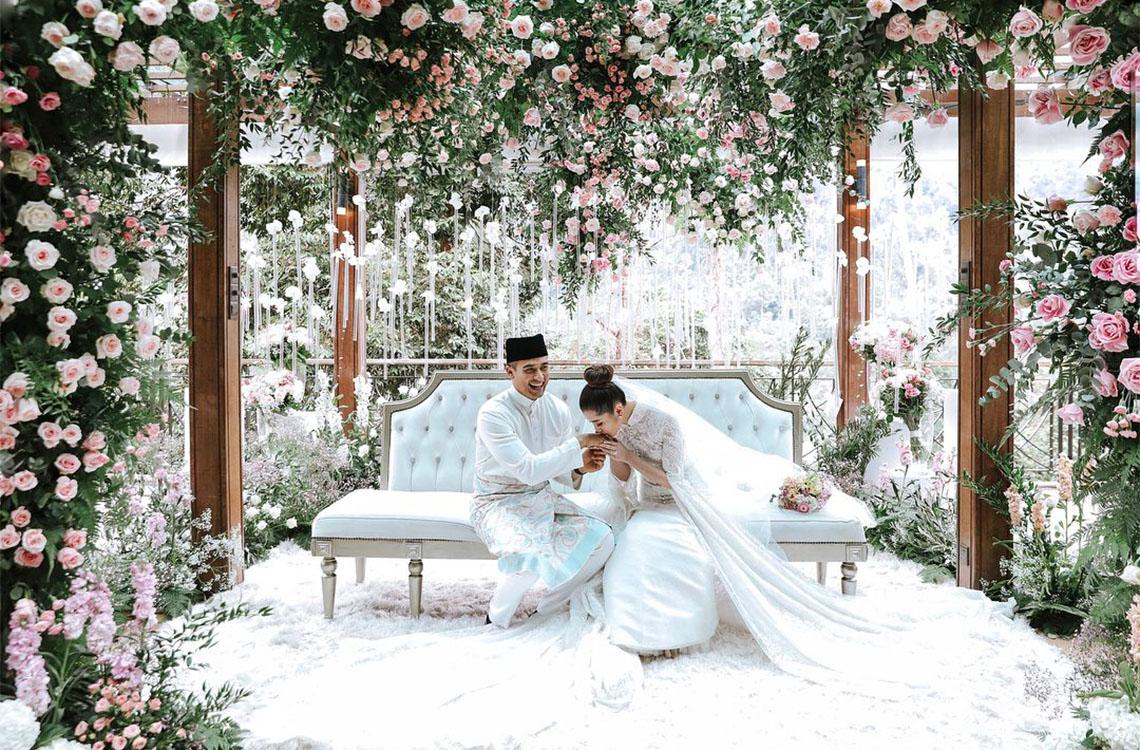 Inside Faliq Nasimuddin and Chryseis Tan\'s Private Wedding