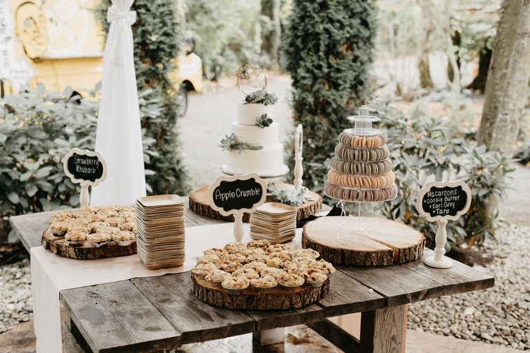 dessert table wedding decoration ideas 2018 trends