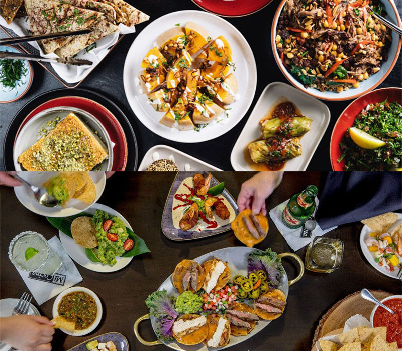 mexican food middle eastern food wedding ideas