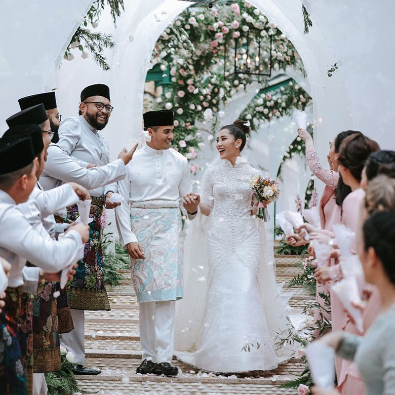 Faliq Nasimuddin and Chryseis Tan's Private Wedding