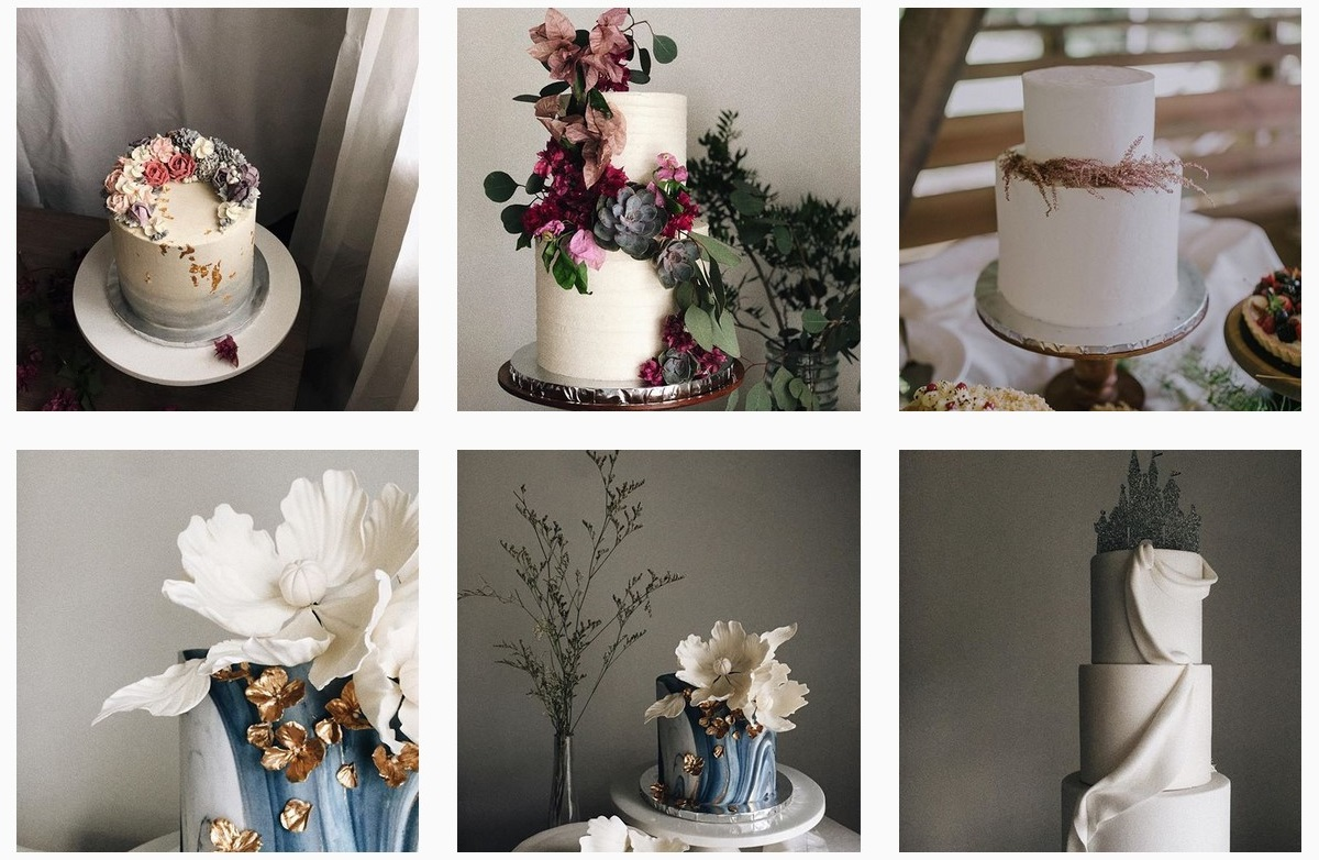 wedding cakes wedding instagram accounts to follow wedding inspiration
