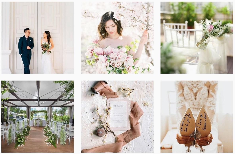 wedding ideas singapore brides decor flower arrangements