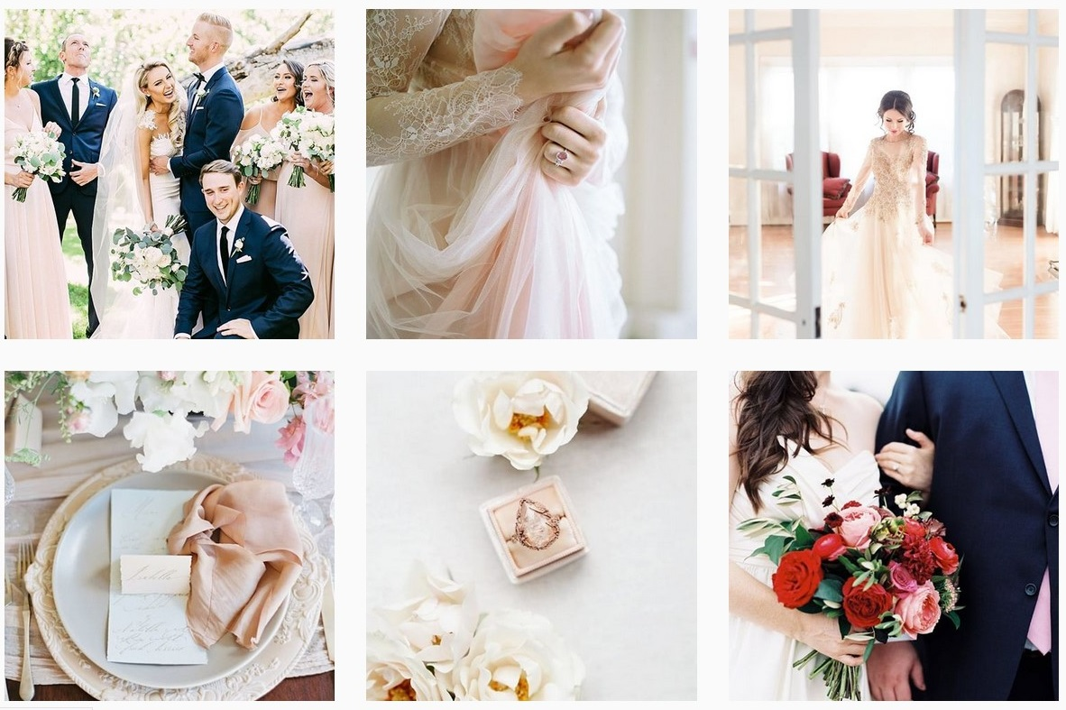 dreamy wedding ideas wedding inspiration aisle society wedding instagram accounts to follow