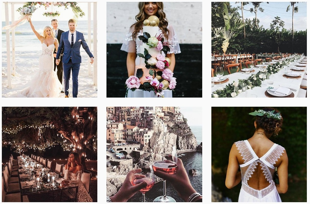 modern wedding inspiration australia wedding ideas wedding instagram accounts to follow