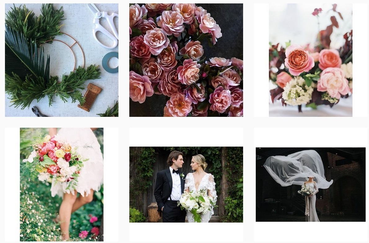florals event designs wedding installation props and styling wedding inspiration poppies and posies wedding instagram accounts to follow