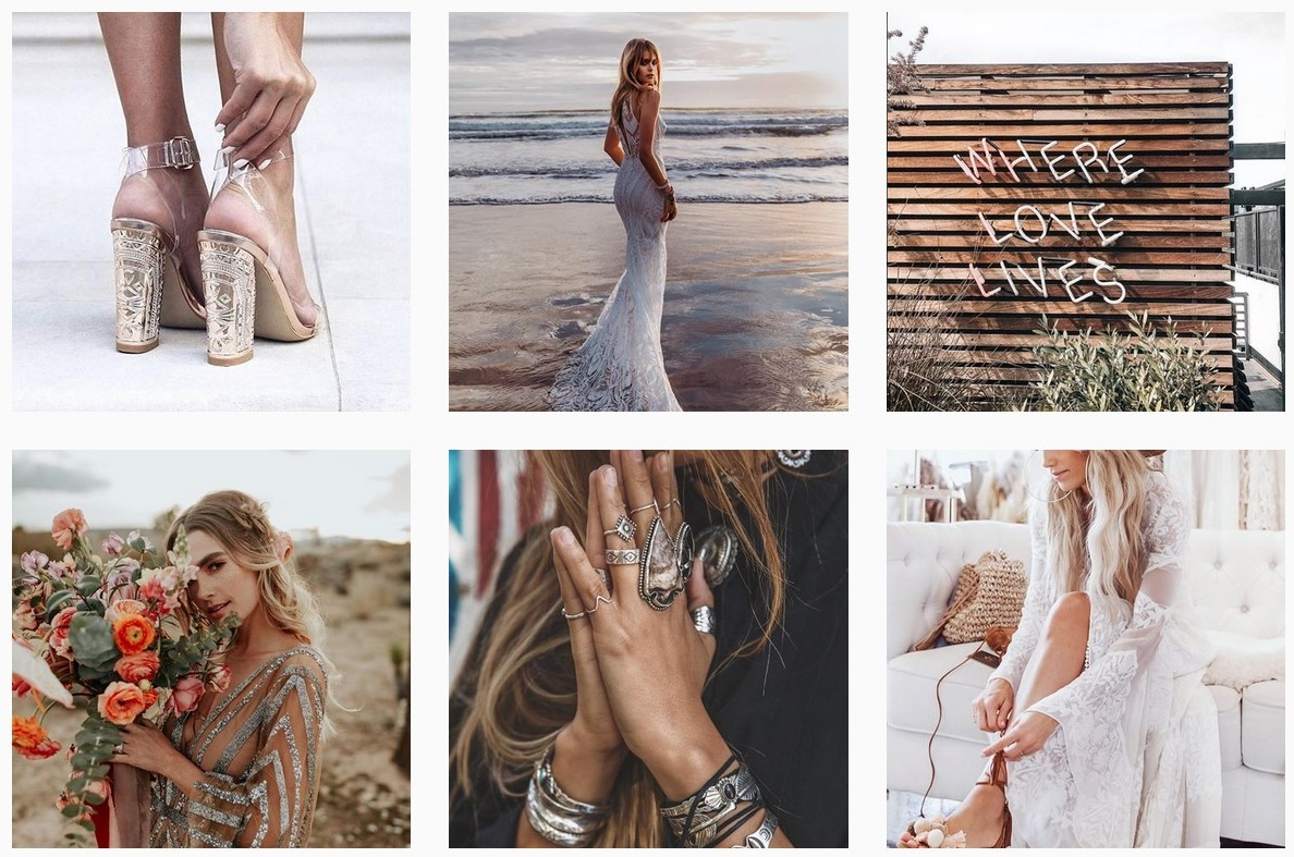 bohemian wedding ideas wedding theme wedding instagram accounts to follow