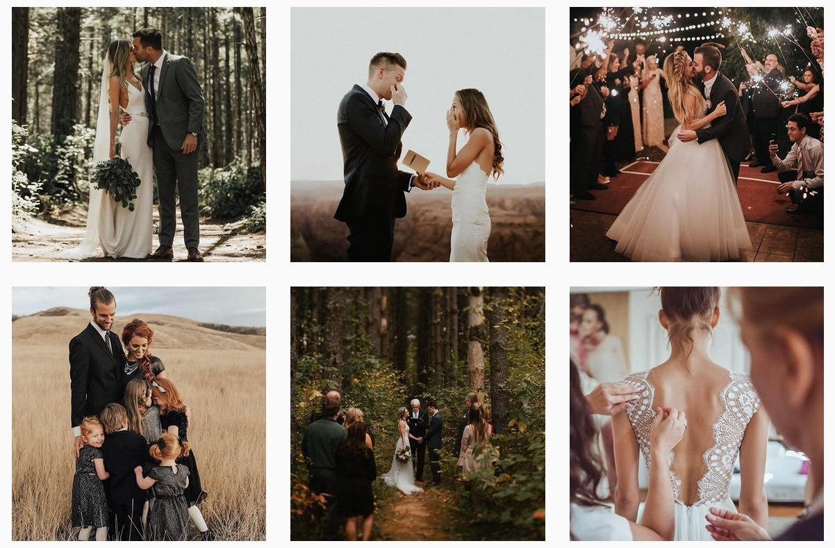 wedding photo mag wedding inspiration romantic fashion-forward wedding instagram accounts to follow