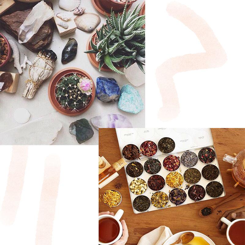 crystals tea and coffee bridesmaid proposal ideas